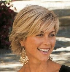 Short Hairstyles For Women Over 50 With Fine Hair Over