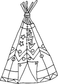 native north american indians printable coloring pages see more indian tepee
