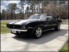 1969 Chevrolet Camaro SS Pro Touring  406/500 HP, Automatic
