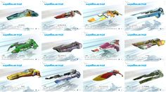 WipEout HD Teams Collage by FEISAR-CSY.deviantart.com