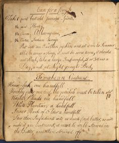 vintagerosegarden:    bygoneyears:    18th century cure for a cough and how to make an ointment.