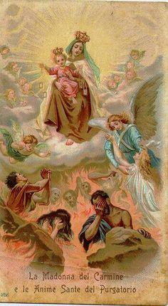 No Céu, Maria impera aos anjos e aos bem-aventurados. Como recompensa da sua profunda humildade, deu-lhe Deus o poder e o encargo de encher de santos os tronos deixados vazios pela orgulhosa queda dos anjos apóstatas.