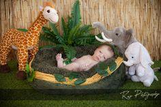 In the jungle...  #repphotography #newbornportraits #studioportraits #jungle