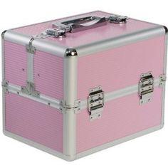 Beauty-Boxes St Tropez Pink Cosmetics and Make-up Beauty Case: Amazon.co.uk: Beauty