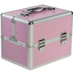 Beauty-Boxes St Tropez Pink Cosmetics and Make-up Beauty Case: Amazon.co.uk: Beauty