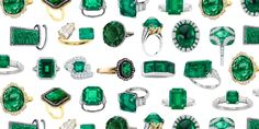 The emerald engagement ring—piercing in its beauty, and picked for Jackie by JFK—is ready for a revival.