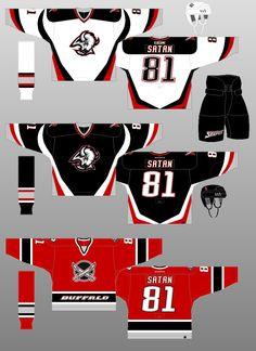 Buffalo Sabres - The (unofficial) NHL Uniform Database Hockey Sweater, Quebec Nordiques, Ice Hockey Jersey, International Teams, Nhl Jerseys, Buffalo Sabres, Baseball Cards, Uniform Ideas, Manchester
