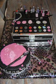 lekker zoet: Make up taart Siena 11 jaar