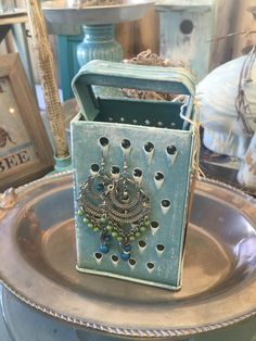 Cheese Grater earing holder