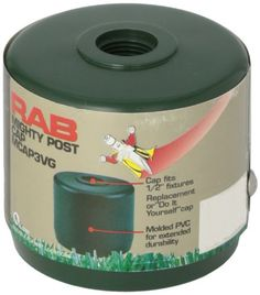 RAB Lighting MCAP3VG Mighty Post Cap for 3 Pipe 278 OD Verde Green >>> Want additional info? Click on the image. This Amazon pins is an affiliate link to Amazon.