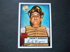2001 Topps Archives #312 Smoky Burgess Phillies NM/MT
