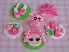 Lalaloopsy Cupcake Toppers
