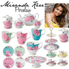 Miranda Kerr Porcelain! by ghoulfriend101 on Polyvore featuring interior, interiors, interior design, home, home decor, interior decorating and Royal Albert