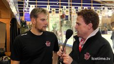 Cardiff Devils V Nottingham Panthers - Interview with Ben Bowns
