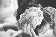 lace hair accessory // photo by UlmerStudiosBlog.com