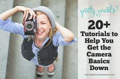 20+ Photography Tutorials to Help You Learn the Camera Basics. Sometimes knowing where to begin with your camera is the hardest part. We all have to start somewhere and this post is definitely the place to start! http://www.lightroompresets.com/blogs/pretty-presets-blog/16974140-20-photography-tutorials-to-help-you-learn-the-camera-basics #photographytutorials