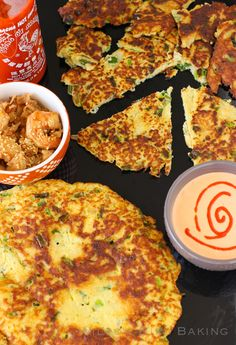 I've always loved Korean scallion pancakes! This is the PERFECT healthy alternative! Asian Recipes, Low Carb Recipes, New Recipes, Whole Food Recipes, Vegetarian Recipes, Cooking Recipes, Favorite Recipes, Healthy Recipes, Healthy Meals