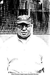 """Andew """"Rube"""" Foster, considered by historians to have been perhaps the best African-American pitcher of the first decade of the 1900s, also founded and managed the Chicago American Giants, one of the most successful black baseball teams of the pre-integration era. Most notably, he organized the Negro National League, the first long-lasting professional league for African-American ballplayers, which operated from 1920 to 1931. He is known as the """"father of Black Baseball."""""""