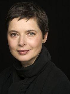 知性と清楚な雰囲気のあるイザベラ・ロッセリーニ。母親は映画『カサブランカ』で有名なイングリッド・バーグマン。