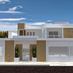 fachadas de casas com portão - Pesquisa Google
