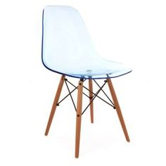 Desire Ghost Inspired Chair in Blue