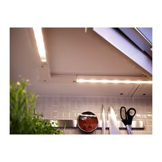 RATIONELL LED worktop lighting IKEA The LED light source consumes up to less energy and lasts 20 times longer than incandescent bulbs. Lighting System, Lighting Solutions, Kitchen Redo, Kitchen Remodel, Apartment Makeover, Up House, Under Cabinet Lighting, Incandescent Bulbs, Apartment Living