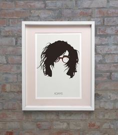 Ryan Adams Minimal Music Minimalist Poster Print by Posteritty