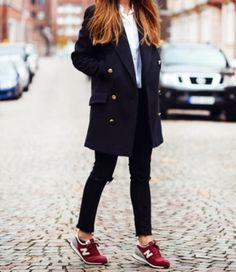 Nice look, lovely sneakers.