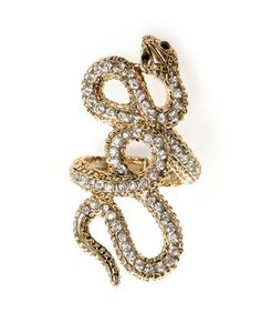 Snake ring! Its so cute!