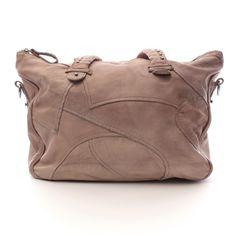 Tolle Handtasche von Liebeskind Berlin in Grau - echtes Leder!