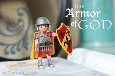 The Armor of God series for kids {crafts, memorization, etc.} from ohAmanda.com