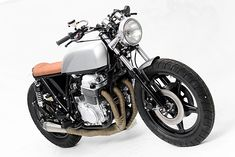 Honda CB750 Brat Style by Steel Bent Customs #motorcycles #bratstyle #motos | caferacerpasion.com