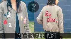 I'm switching it up today with this DIY Letterman Patch Bomber Jacket! This was such a fun DIY project - please be sure to lik. Letterman Patches, Most Popular Videos, Cool Diy Projects, Bomber Jacket, Sweatshirts, Pretty, Jackets, Fashion, Down Jackets