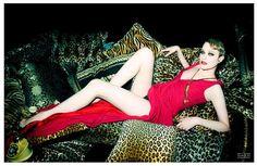 Wildly Seductive Editorials - The Rachel Evan Woods Flaunt Magazine Shoot Boasts Revealing Lingerie (GALLERY)