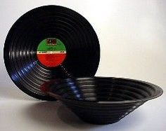 A way to recycle old records !