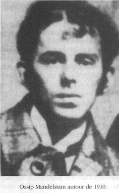 Ossip Mandelstam - Russian poet and essayist who lived in Russia during and after its revolution and the rise of the Soviet Union.