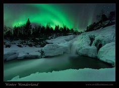 Waterfall Aurora