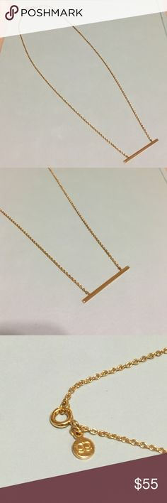 Gorjana Gold tone bar necklace Gorjana Gold tone bar necklace. Perfect condition, maybe worn once. Great to wear alone or layer. Gorjana Jewelry Necklaces