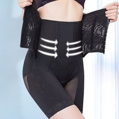 db4e186ce5ecc Sexy High Waisted Front Closure Perfect Shape Tummy Slimming Shapewear -  NewChic Mobile Shapewear