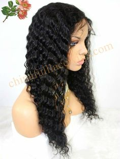 Find More Wigs Information about fashion high quality indian human hair deep wave curl full lace wig free shipping in stock,High Quality hair lace wig,China lace human hair wig Suppliers, Cheap lace front human hair wig from Qingdao Li Beier Hair Products Co., Ltd.