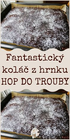 Slovakian Food, Amazing Cakes, Deserts, Food And Drink, Cooking Recipes, Sweets, Baking, Hampers, Gummi Candy