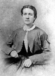 Lucy Hobbs Taylor, the first woman to receive a dentistry degree.