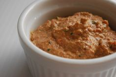 Red Pepper, Parsley, and Walnut Spread