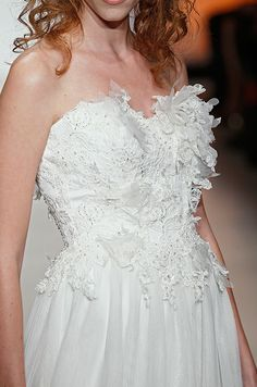 Textured bodice from Alfred Angelo, Fall-Winter 2013