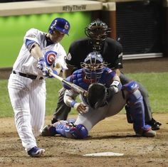 Miquel Montero, Pinch Hit Grand Slam, 8th Inning, Game 1, 2016 NLCS. October 15, 2016, at Wrigley Field, Chicago.