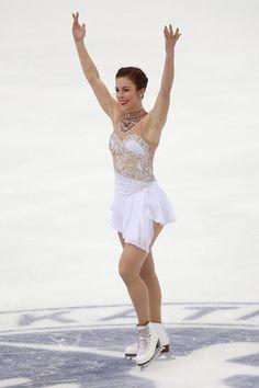 アシュリー・ワグナー(米国)NHK杯・第2日(男女・ペアFS、アイスダンスSD)