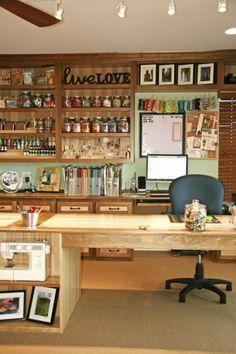 Inspiration   Organization: The 10 Best Craft Rooms