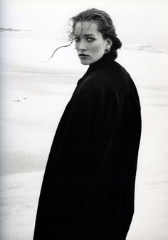 Tatiana Patitz by Peter Lindbergh Peter Lindbergh, Editorial Photography, Portrait Photography, Fashion Photography, Glamour Photography, Lifestyle Photography, Paolo Roversi, Mario Sorrenti, Black And White Portraits