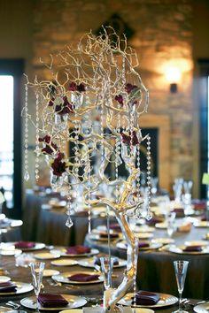 Gorgeous wedding centerpiece idea; Featured Photographer: JC Page Photography