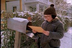The rural mailbox that Ralphie checks and ultimately retrieves his Little Orphan Annie envelope from. It was purposely placed out at the street for the ...